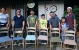 椅子作りワークショップが開催されました